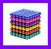 Неокуб Магнитный конструктор Неокуб (Neocube) 5мм магнитные шарики головоломка. Антистрес., фото 5