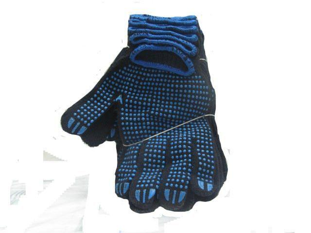 Хозяйственные перчатки плотные черная (7кл/5н) (10 пар)