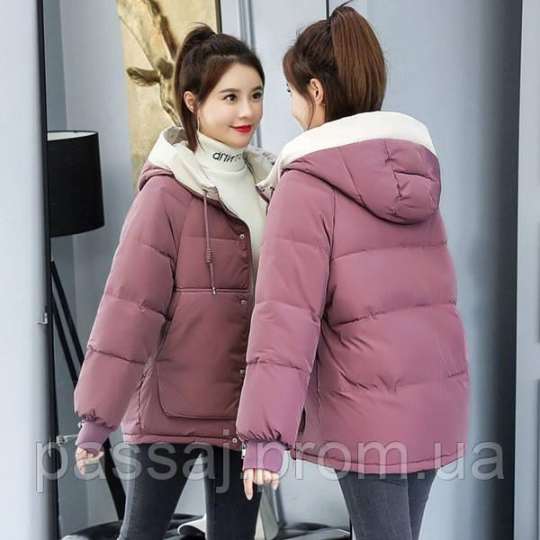 Яркая куртка новая, большой размер 3XL