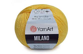YarnArt Milano, Желтый №863