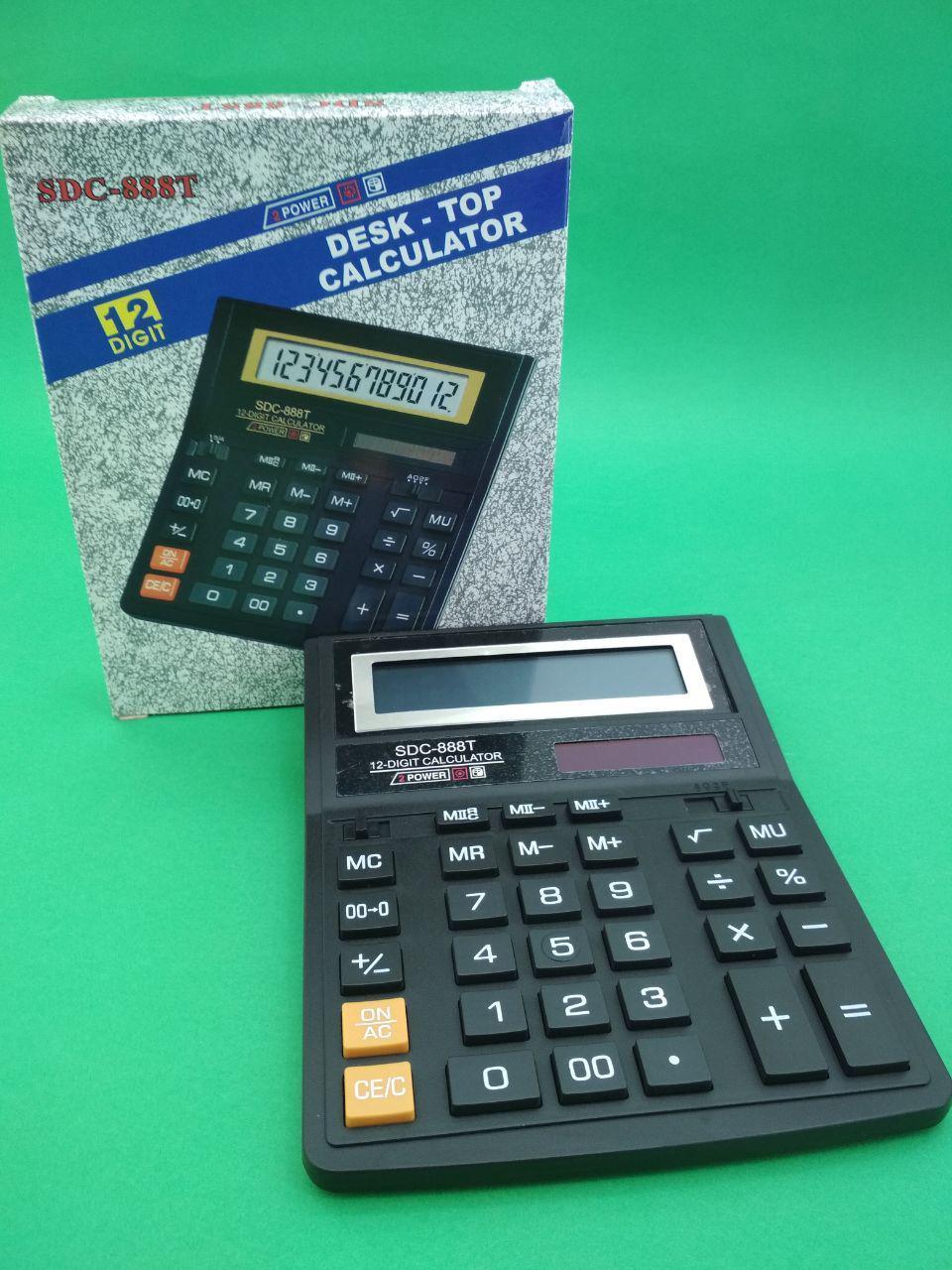 Калькулятор  KK 888-Т (12разрядный) (1 шт)
