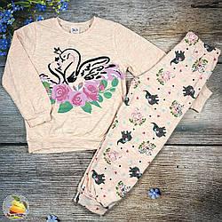 Дитяча піжаму для дівчинки Розміри: 5,6,7,8 років (01236-1)