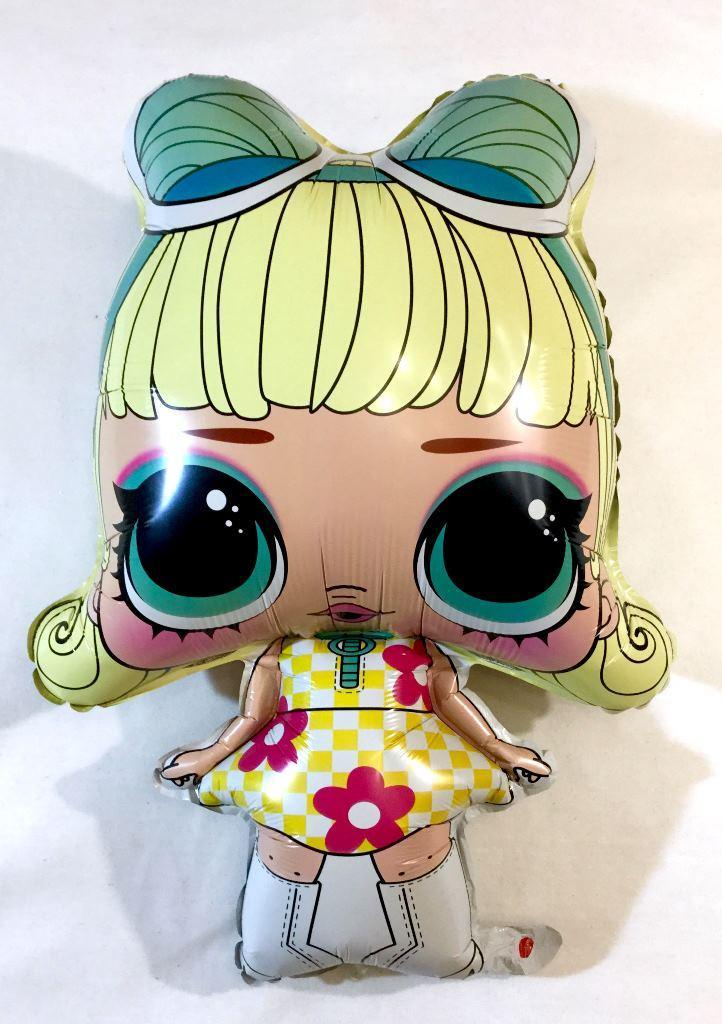 """Кулька 18"""" фольгована фігура """"Лялька Лол, мульт"""" Китай шт."""