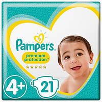 Подгузники Pampers Premium Care 4+, 10-15кг (21шт.)