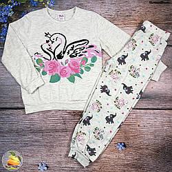 Піжама для дівчинки Розміри: 5,6,7,8 років (01236-2)