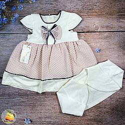 Дитяче плаття і болеро Розміри: 1,2,3 року (01239)