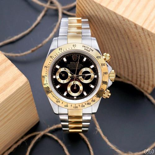 Rolex (Gold-Black)
