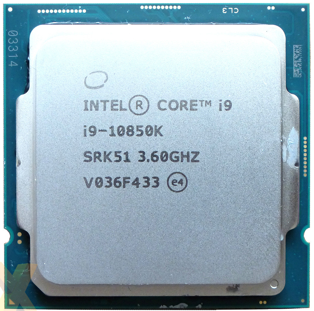 Intel Core i9 10850K IHS liquid metal, б/у
