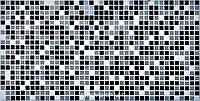 Декоративные Панели ПВХ Мозаика черная