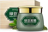Очищающая грязевая маска Bioaqua Green beans Mud Wrap с бобами Мунг 120 мл Биоаква Оригинал