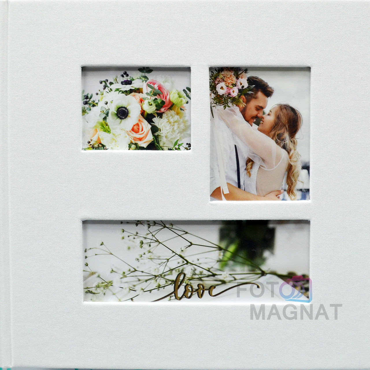 """Весільний фотоальбом """"Наше Весілля"""" 200 фото 10х15 см"""