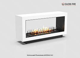 Напольный биокамин Module-m1 Gloss Fire