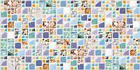 Декоративні Панелі ПВХ Мозаїка лагуна