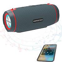 Портативная Bluetooth колонка HOPESTAR H45 Party с динамичной подсветкой, Водонепроницаемая