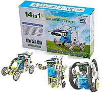 Конструктор робот на солнечной батарее- 14 in 1 Educational Solar Robot