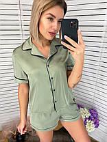 Пижама с шортами в расцветках 42301, фото 3