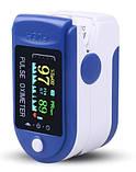 ОПТ Пульсоксиметр медицинский на палец для измерения кислорода в крови TFT Пульсометр Fingertip Pulse Oximeter, фото 6