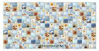 Декоративні Панелі ПВХ Мозаїка арт лагуна