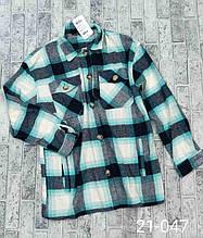 Теплая и стильная рубашка в клетку из фланели