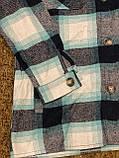 Теплая и стильная рубашка в клетку из фланели, фото 7