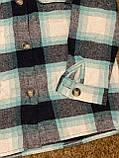 Теплая и стильная рубашка в клетку из фланели, фото 6