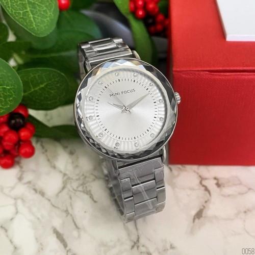 Mini Focus All Silver Diamonds