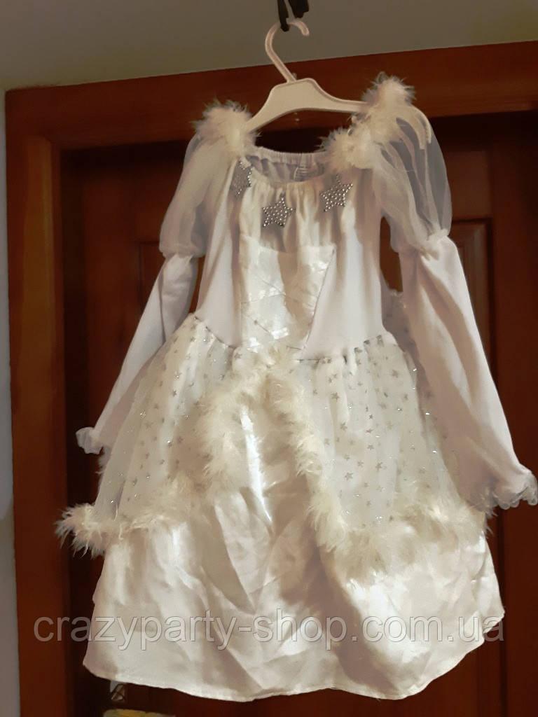Карнавальный костюм  ангела, снежинки , звездочки 140-146см б/у