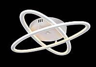 Люстра Led потолочная с пультом Sunnysky YR-A6321/2-wh матовая белая