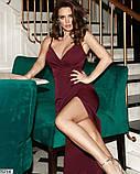 Платье бордовое, фото 3