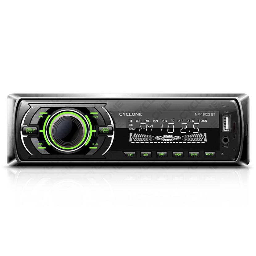 Автомагнитола MP3 проигрыватель CYCLONE MP-1102G BT