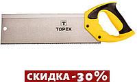 "Ножовка по дереву пасовочная Topex - 350 мм, 13T х 1"" 1 шт."
