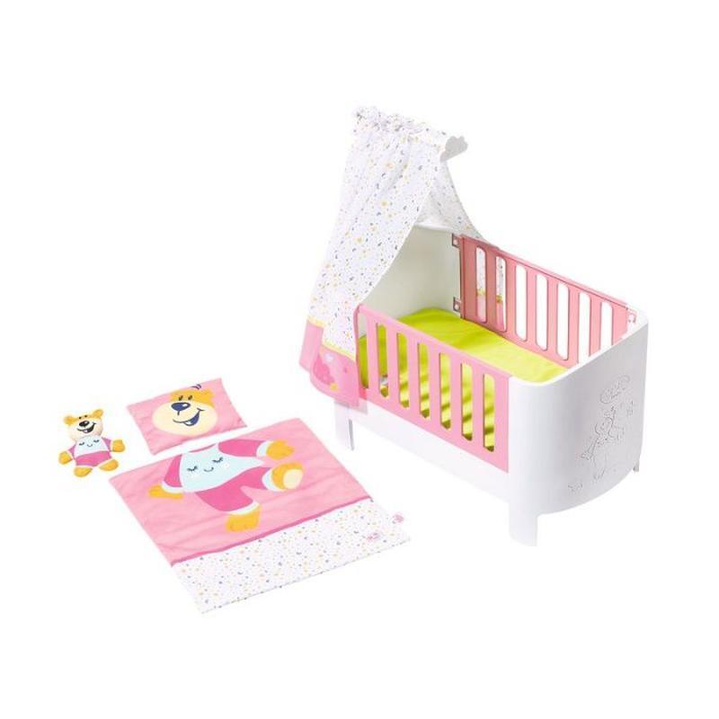 Кроватка для куклы 43 см Baby Born Zapf Creation 827420