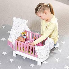 Кроватка для куклы 43 см Baby Born Zapf Creation 827420, фото 3