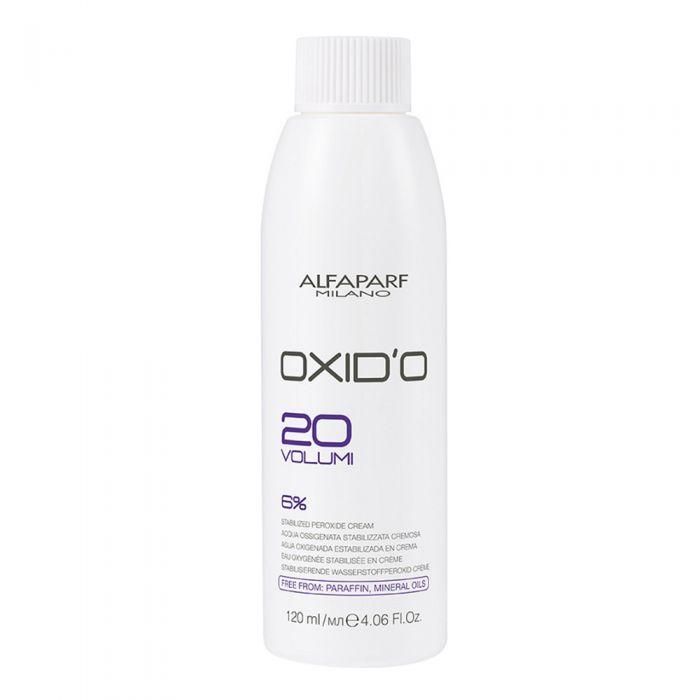 Окислювач Oxid'O Alfaparf 20 volumi 6% - 120 мл