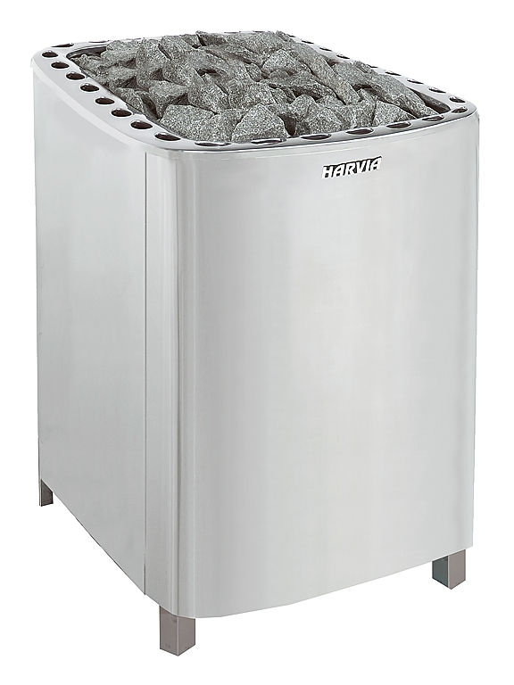 Электрокаменка Harvia Profi L 20 кВт вес камней 100 кг парная 30 м.куб