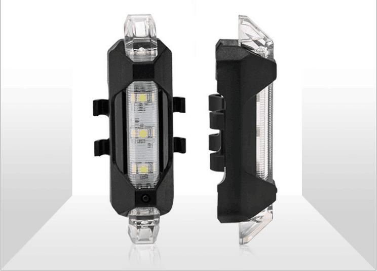 Светодиодный фонарь сигнализатор, габаритные огни для электросамоката Xiaomi M365/M365 Pro. Белый