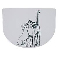 24540 Trixie Cat Love коврик под миски, 40х30 см