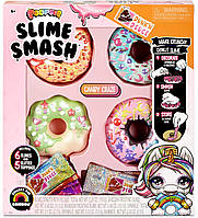 Пупси Слайм Донат пончик Poopsie Slime Smash Candy Craze with Crunchy Donut Сумасшедшие конфеты
