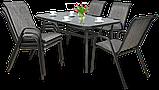 Крісло з текстилену  BOLONIA  55х75хН91см, фото 5