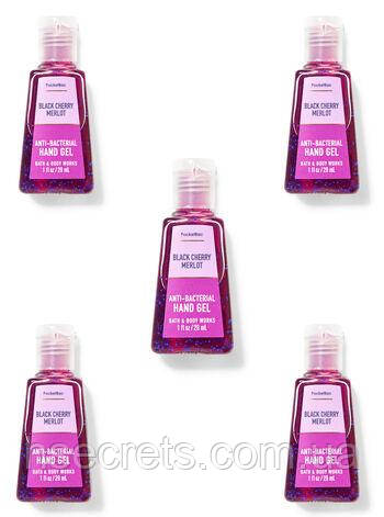 Санитайзер (антисептик) Bath and Body Works - Black Cherry Merlot