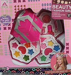 Набор детской декоративной косметики розовая Beauty Fashion Girl