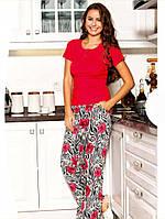 Яркая женская пижама 100% качество