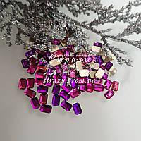 Стразы фигурные 6*8 Purple flare 20шт №105