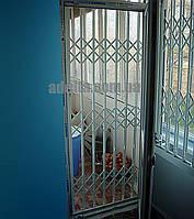 Решетки раздвижные Шир.930*Выс2200мм для балконов