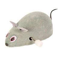 4092 Trixie Мышь пластиковая заводная, 7 см