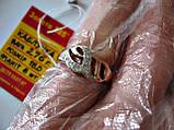 КОЛЬЦО из ЗОЛОТА 585 пробы 2.76 грамма 18 размер, фото 7