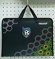 Папка сумка детская с тканевыми ручками для мальчика школьная Class Footbal