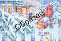 Схема для вышивки бисером «Рождественский вечер»