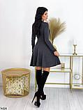 Платье серое, фото 4