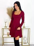 Платье бордовое, фото 2
